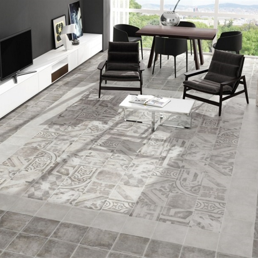 Pompei Antica Grey Mix Vloer | retrotegelwinkel.nl