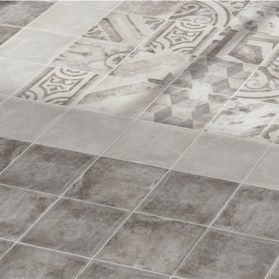 Pompei Dark Grey Vloer | retrotegelwinkel.nl