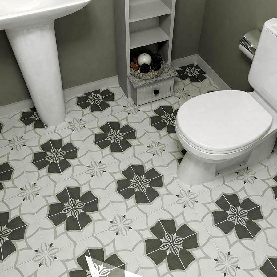 Twenties Crest Toilet | retrotegelwinkel.nl