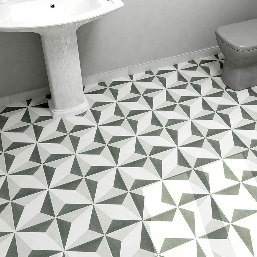 Twenties Diamond Toilet | retrotegelwinkel.nl