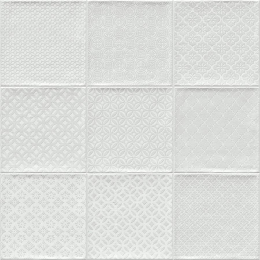 Retrotegel Bugis Blanco Mix | Retrotegelwinkel.nl