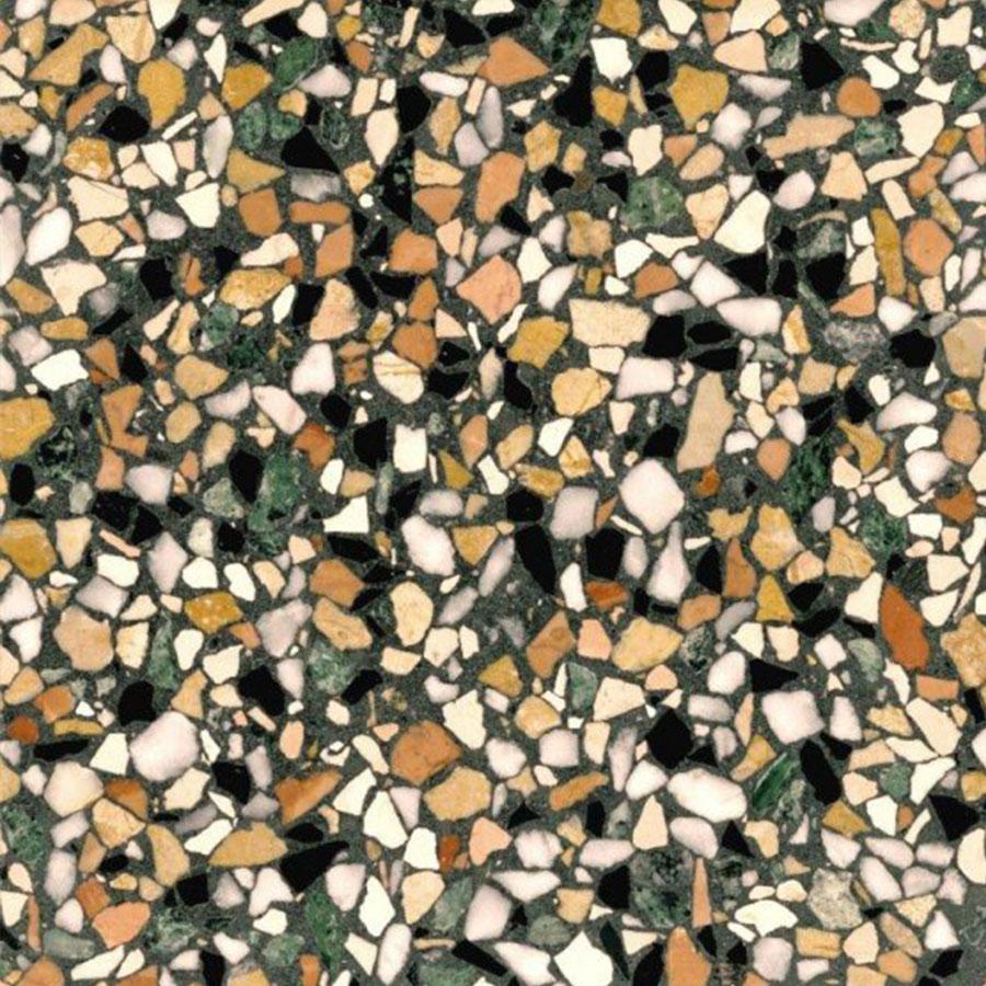 Terrazzotegel smaragd beige | Retrotegelwinkel.nl